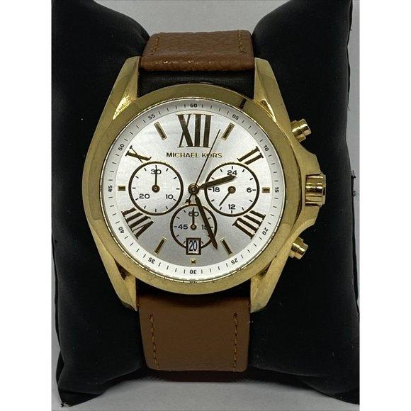 Michael Kors Bradshaw MK5743 Womens Brown Leather